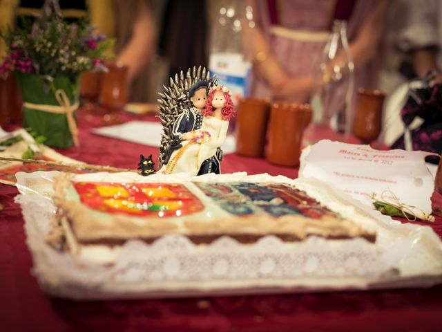 La boda de Pachu y Marta en Navaluenga, Ávila 34