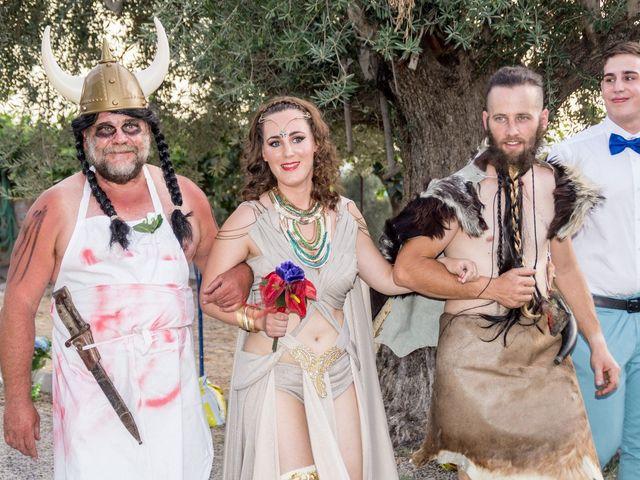 La boda de Cristian  y Laura en Jun, Granada 1