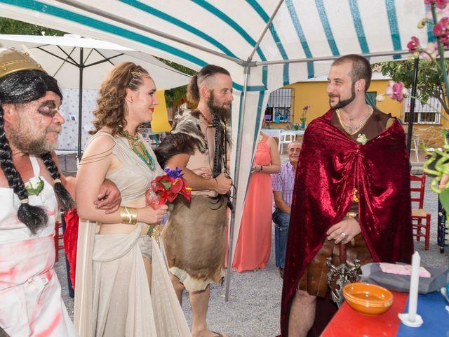 La boda de Cristian  y Laura en Jun, Granada 2
