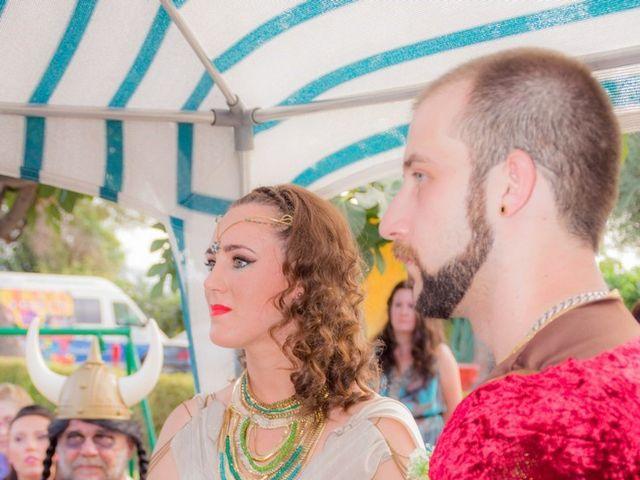 La boda de Cristian  y Laura en Jun, Granada 25