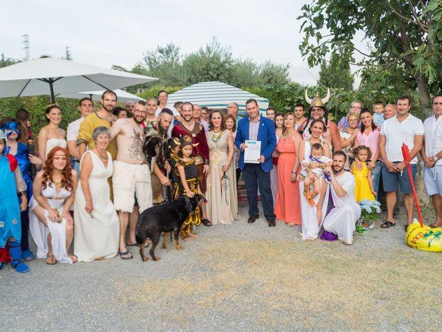 La boda de Cristian  y Laura en Jun, Granada 37