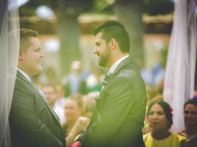 La boda de Mariano y Alex en Mutxamel, Alicante 14