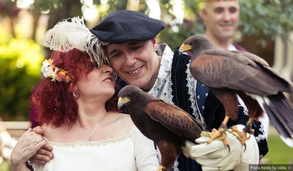 La boda de Pachu y Marta en Navaluenga, Ávila