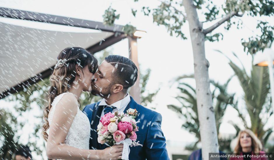 La boda de Iván y Tamara en Alzira, Valencia