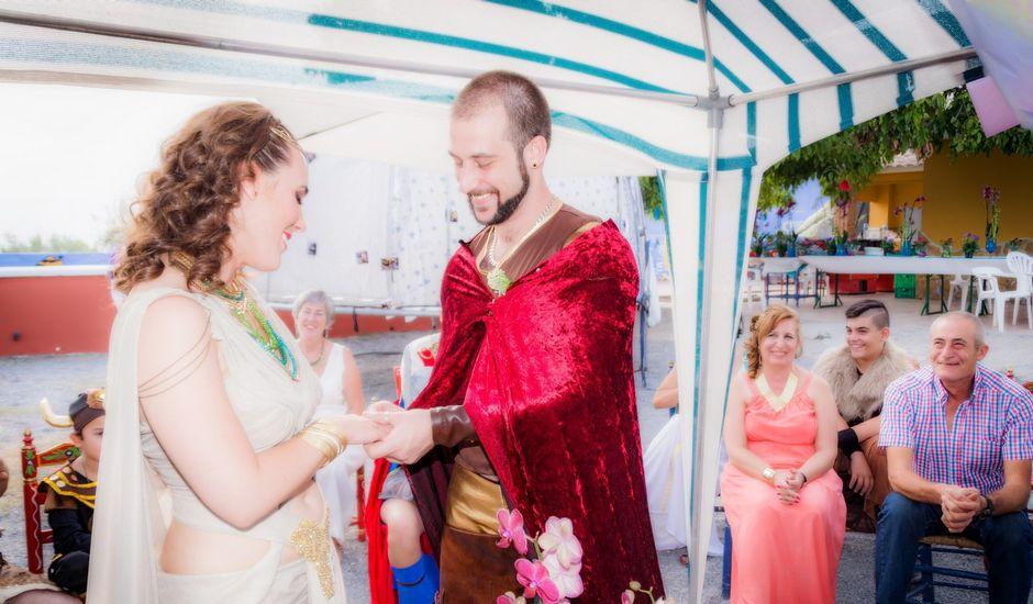 La boda de Cristian  y Laura en Jun, Granada