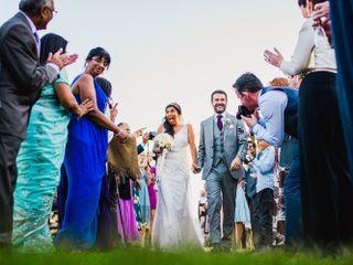 La boda de Sarika y Fintan 1