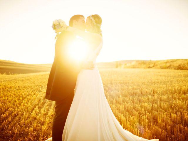 La boda de Carlos y Alicia en San Pedro Manrique, Soria 129