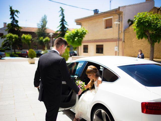 La boda de Eloy y Nuria en Arroyo De La Encomienda, Valladolid 9