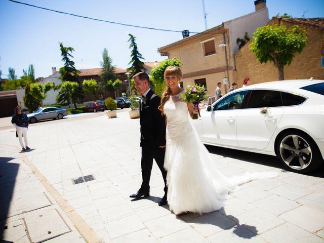 La boda de Eloy y Nuria en Arroyo De La Encomienda, Valladolid 10