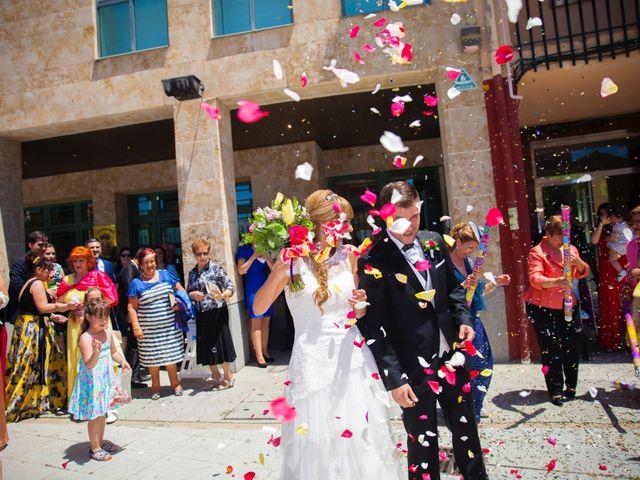 La boda de Eloy y Nuria en Arroyo De La Encomienda, Valladolid 17
