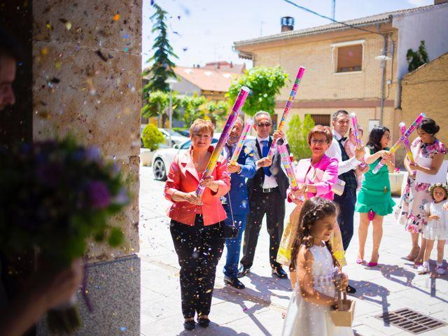 La boda de Eloy y Nuria en Arroyo De La Encomienda, Valladolid 19