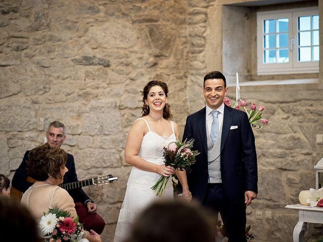 La boda de Álvaro y Raquel en Outes, A Coruña 40
