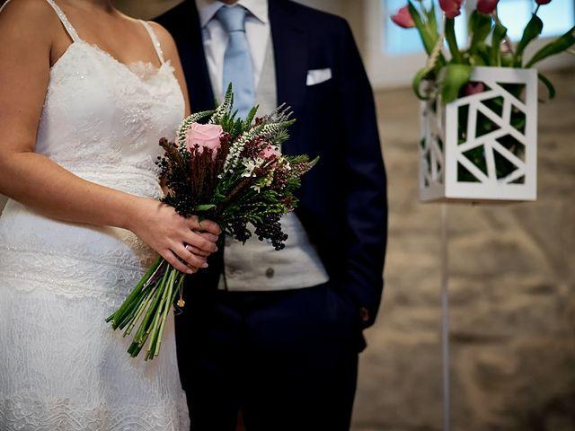 La boda de Álvaro y Raquel en Outes, A Coruña 43