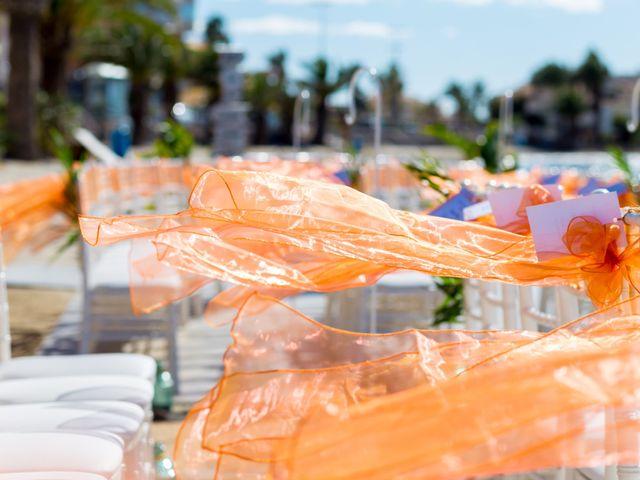 La boda de Marta y Ivan en La Manga Del Mar Menor, Murcia 1