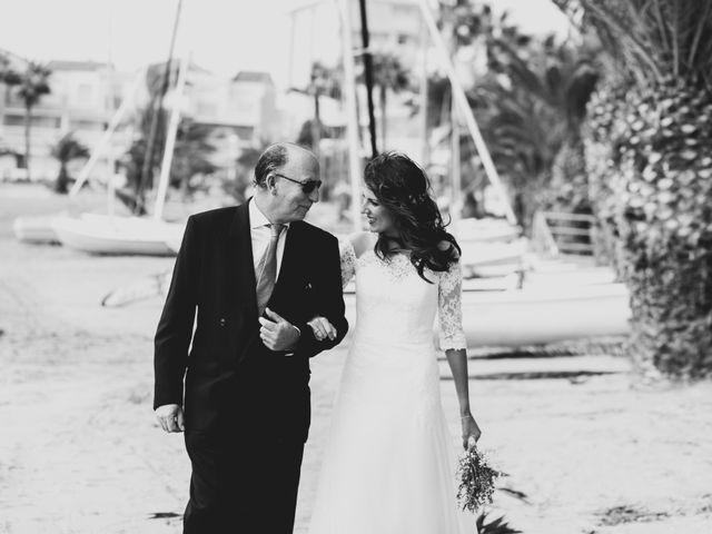 La boda de Marta y Ivan en La Manga Del Mar Menor, Murcia 13
