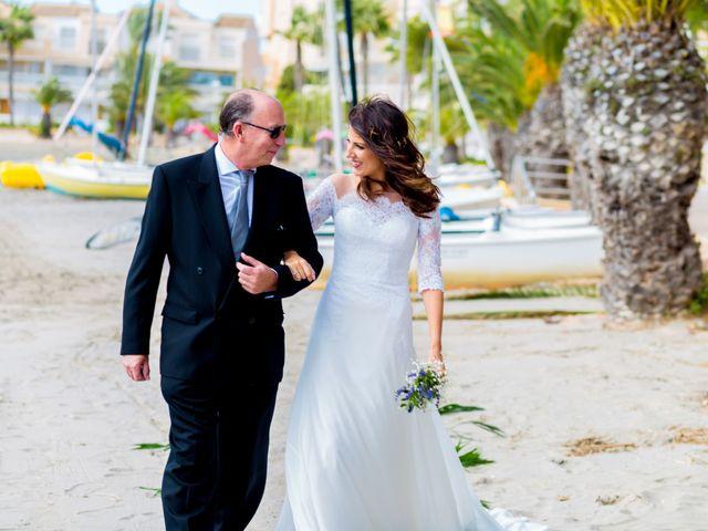 La boda de Marta y Ivan en La Manga Del Mar Menor, Murcia 14