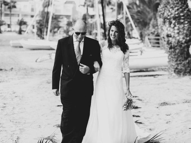 La boda de Marta y Ivan en La Manga Del Mar Menor, Murcia 15
