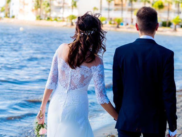 La boda de Marta y Ivan en La Manga Del Mar Menor, Murcia 61