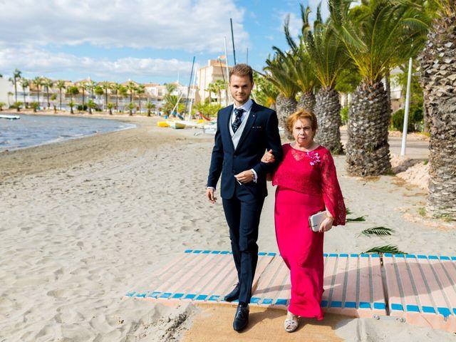 La boda de Marta y Ivan en La Manga Del Mar Menor, Murcia 95