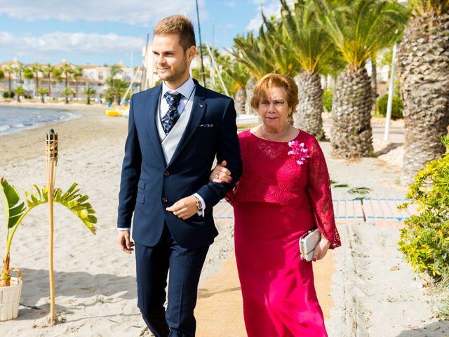 La boda de Marta y Ivan en La Manga Del Mar Menor, Murcia 97
