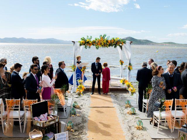 La boda de Marta y Ivan en La Manga Del Mar Menor, Murcia 101