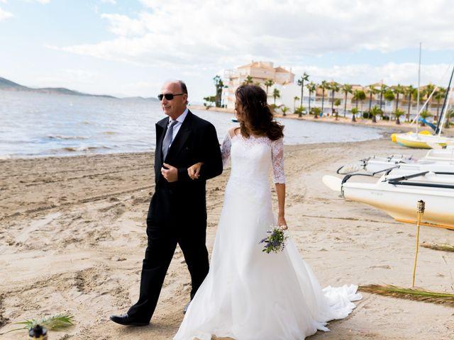 La boda de Marta y Ivan en La Manga Del Mar Menor, Murcia 105