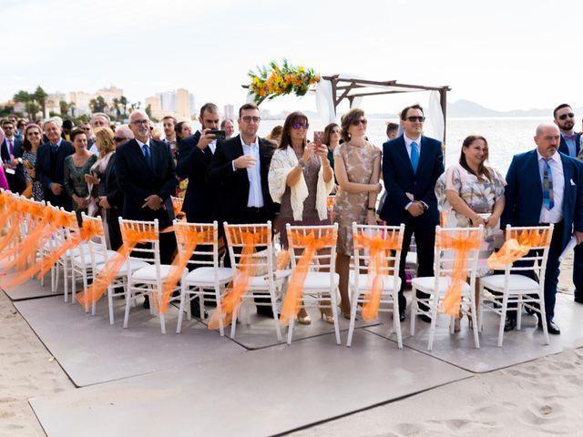 La boda de Marta y Ivan en La Manga Del Mar Menor, Murcia 107