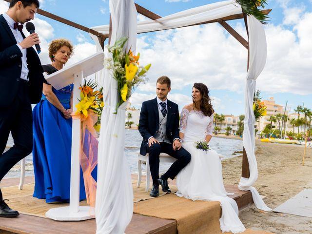 La boda de Marta y Ivan en La Manga Del Mar Menor, Murcia 120