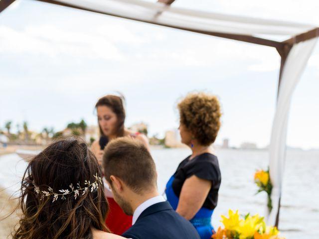 La boda de Marta y Ivan en La Manga Del Mar Menor, Murcia 133