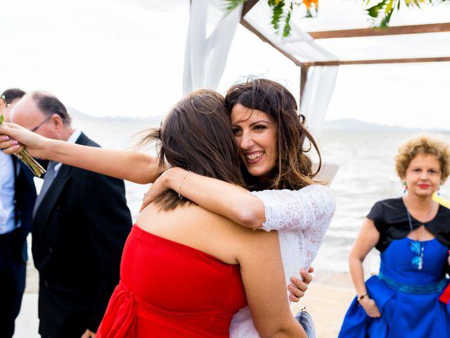 La boda de Marta y Ivan en La Manga Del Mar Menor, Murcia 160