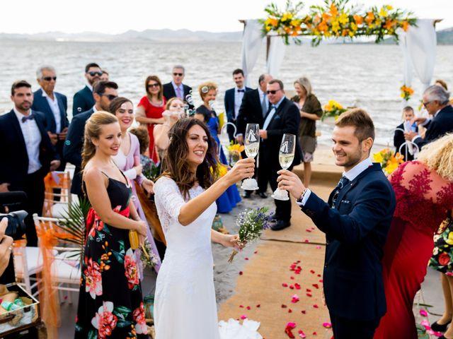 La boda de Marta y Ivan en La Manga Del Mar Menor, Murcia 175