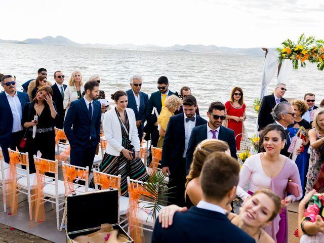 La boda de Marta y Ivan en La Manga Del Mar Menor, Murcia 179