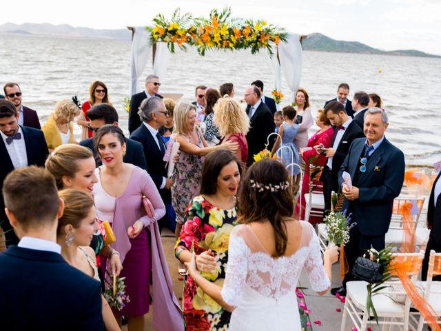 La boda de Marta y Ivan en La Manga Del Mar Menor, Murcia 180