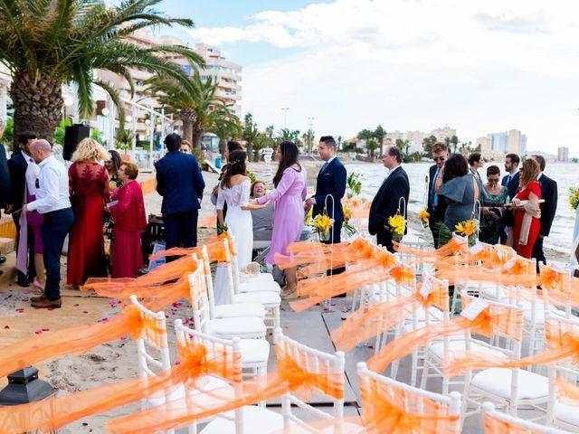 La boda de Marta y Ivan en La Manga Del Mar Menor, Murcia 183