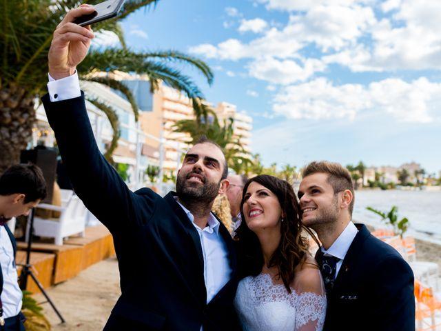 La boda de Marta y Ivan en La Manga Del Mar Menor, Murcia 192