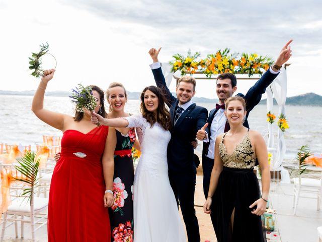 La boda de Marta y Ivan en La Manga Del Mar Menor, Murcia 195