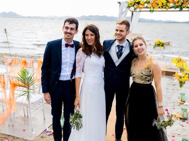 La boda de Marta y Ivan en La Manga Del Mar Menor, Murcia 197