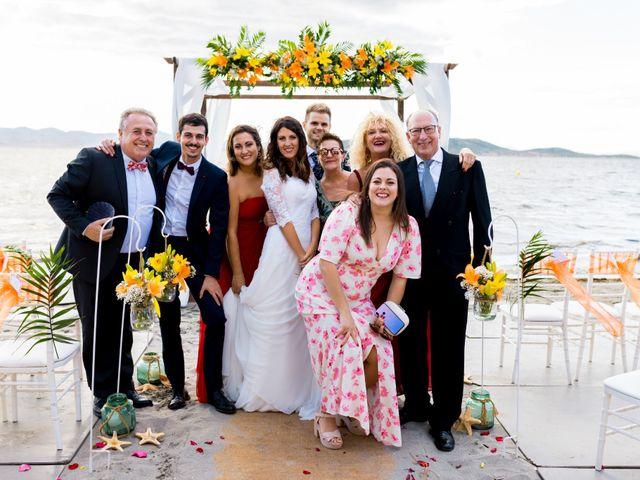 La boda de Marta y Ivan en La Manga Del Mar Menor, Murcia 202