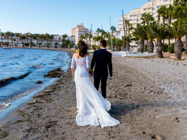 La boda de Marta y Ivan en La Manga Del Mar Menor, Murcia 208