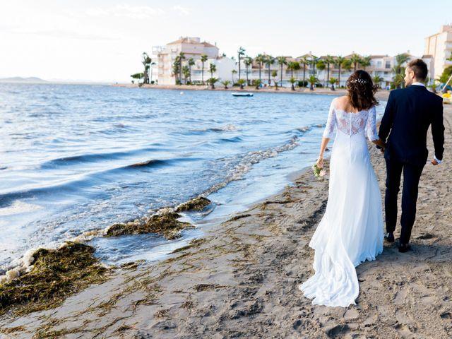 La boda de Marta y Ivan en La Manga Del Mar Menor, Murcia 209
