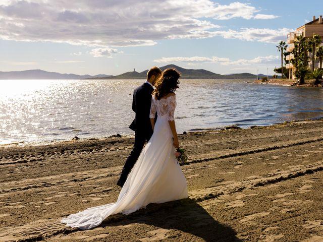 La boda de Marta y Ivan en La Manga Del Mar Menor, Murcia 217