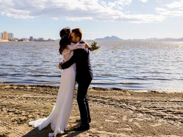La boda de Marta y Ivan en La Manga Del Mar Menor, Murcia 218