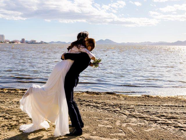 La boda de Marta y Ivan en La Manga Del Mar Menor, Murcia 219