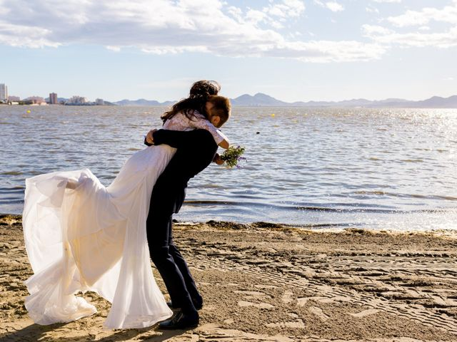 La boda de Marta y Ivan en La Manga Del Mar Menor, Murcia 220
