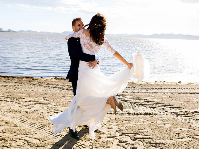 La boda de Marta y Ivan en La Manga Del Mar Menor, Murcia 222