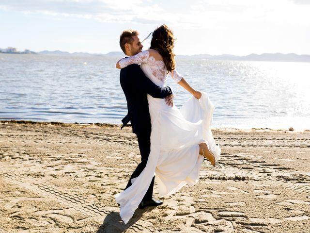 La boda de Marta y Ivan en La Manga Del Mar Menor, Murcia 223
