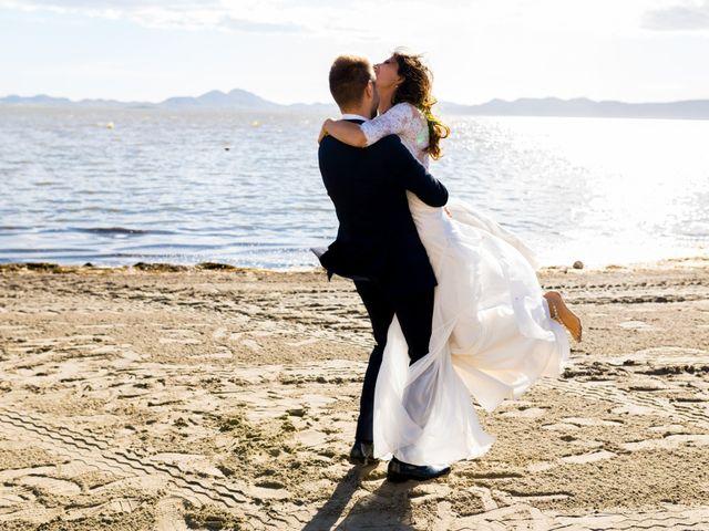 La boda de Marta y Ivan en La Manga Del Mar Menor, Murcia 227
