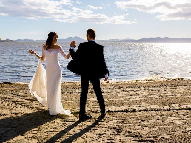 La boda de Marta y Ivan en La Manga Del Mar Menor, Murcia 229