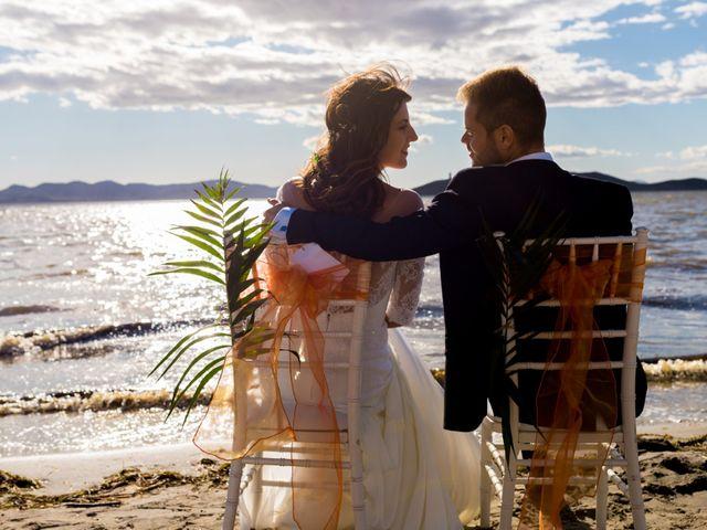 La boda de Marta y Ivan en La Manga Del Mar Menor, Murcia 230