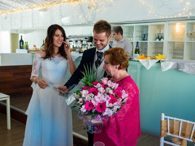 La boda de Marta y Ivan en La Manga Del Mar Menor, Murcia 256
